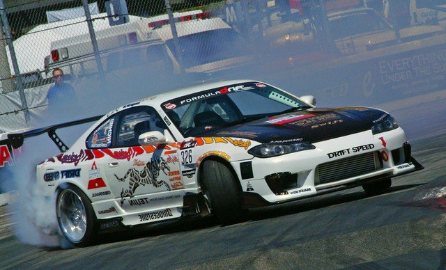 Drift Speed Nissan Drift Car Torco Advanced Lubricants